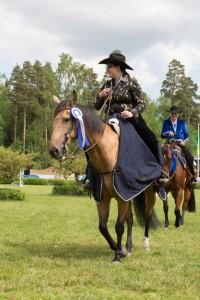 Siri Haanpää & BA Shining Hickory @ Ypäjä Reining SM2014