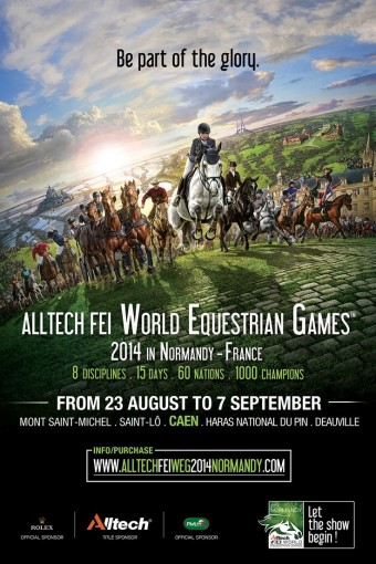 AllTech FEI World Equestrian Games 2014, Normandy, France